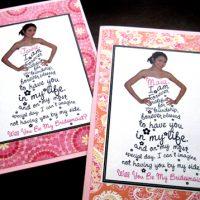 DIY Bridesmaid Cards