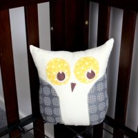 Nesting… Literally! Sewing the Lola Owl Pillow