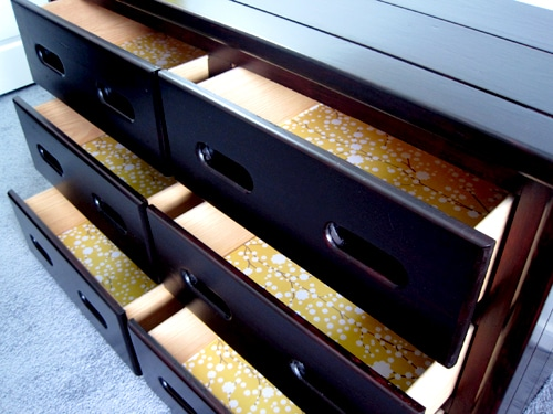 Diy Dresser Drawer Liners