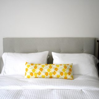 DIY Upholstered Tufted Headboard (The Sequel)