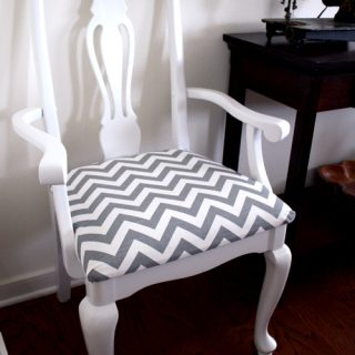 Chevron Dining Chairs