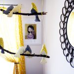 Evie's Yellow and Grey Birdie Nursery
