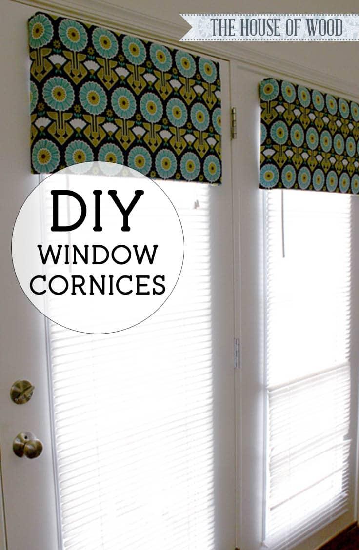 Diy Wood Cornice Diy Window Cornices