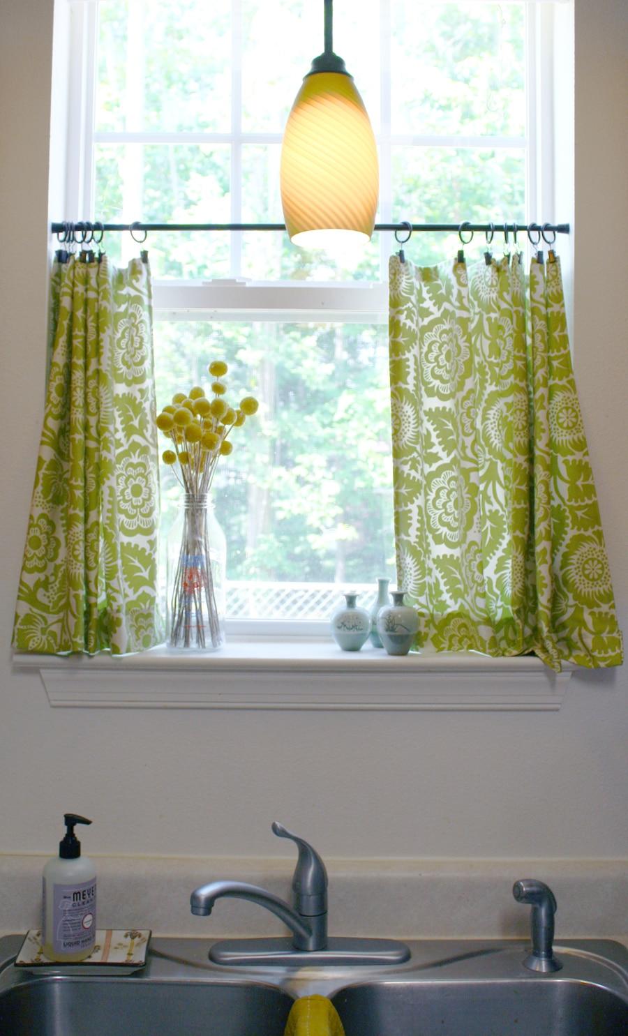 Cute Diy Cafe Curtains