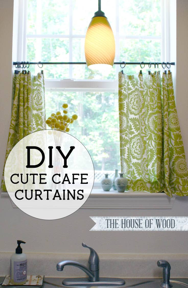 diy cafe curtains