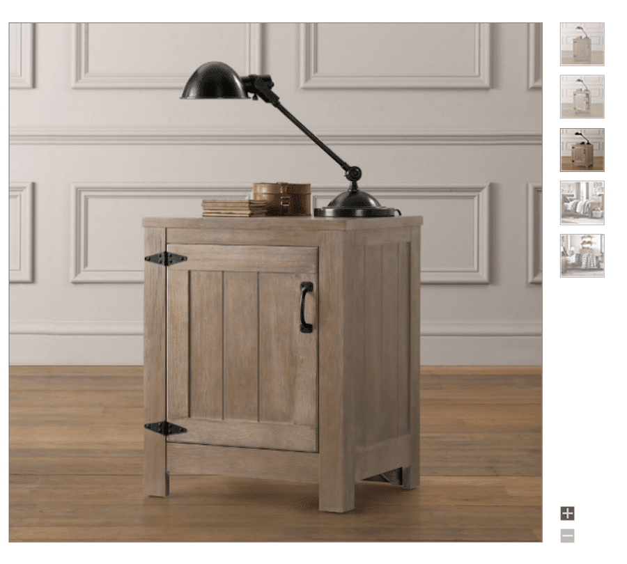 Build your own Restoration Hardware-inspired Rustic nightstands! Free plans