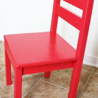 How to build a DIY kid chair