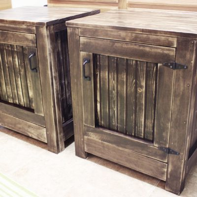 Restoration Hardware-Inspired Nightstands