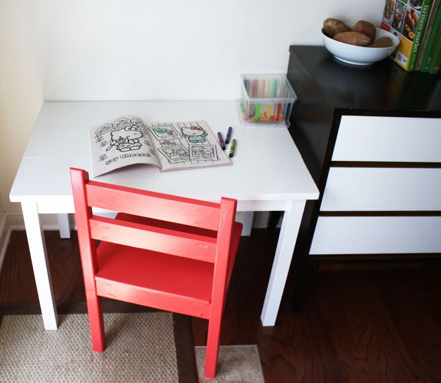 Cost Breakdown & How To Build A DIY Kids Chair