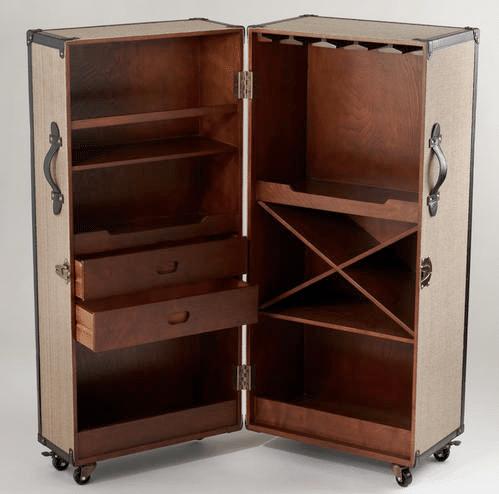 Steamer Bar Cabinet Crate And Barrel Hmmm