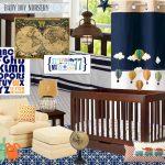 Baby Boy Nursery Mood Board