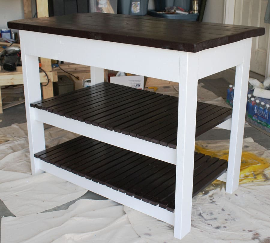 How to build a diy kitchen island for Diy home building plans