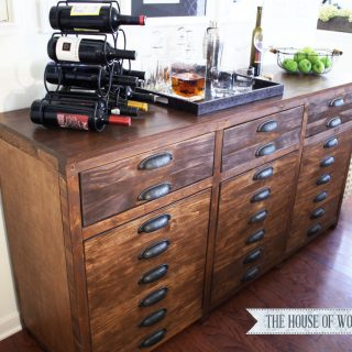Brainstorming A Bar Cabinet – The Grand Finale!