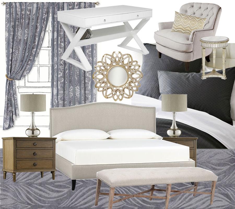 Master Bedroom Mood Board