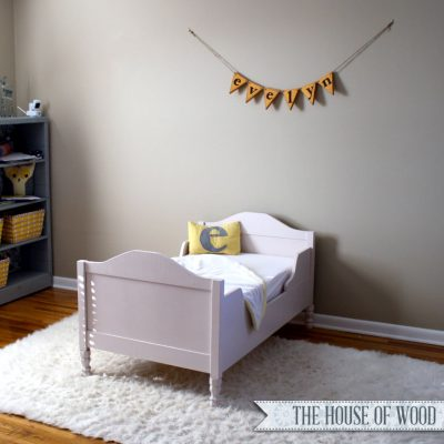 Restoration Hardware-Inspired Toddler Bed