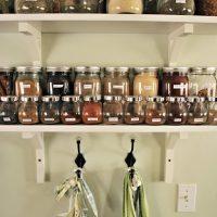 Chalkboard Spice Cabinet