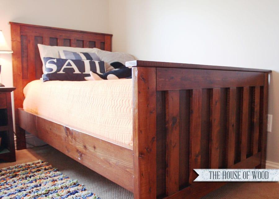 Diy Restoration Hardware Twin Bed