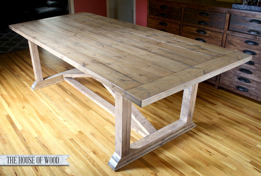 DIY Dining Table Restoration Hardware Finish Tutorial