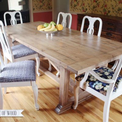 DIY Dining Table: When Movers Wreck Your Stuff
