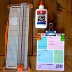 DIY Notepad and free printable
