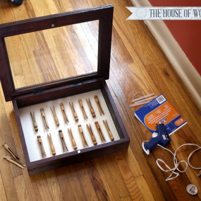 Laundry Room Clothespin Art