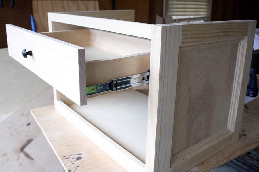 printer table drawer