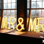 DIY Light-Up Wedding Marquee