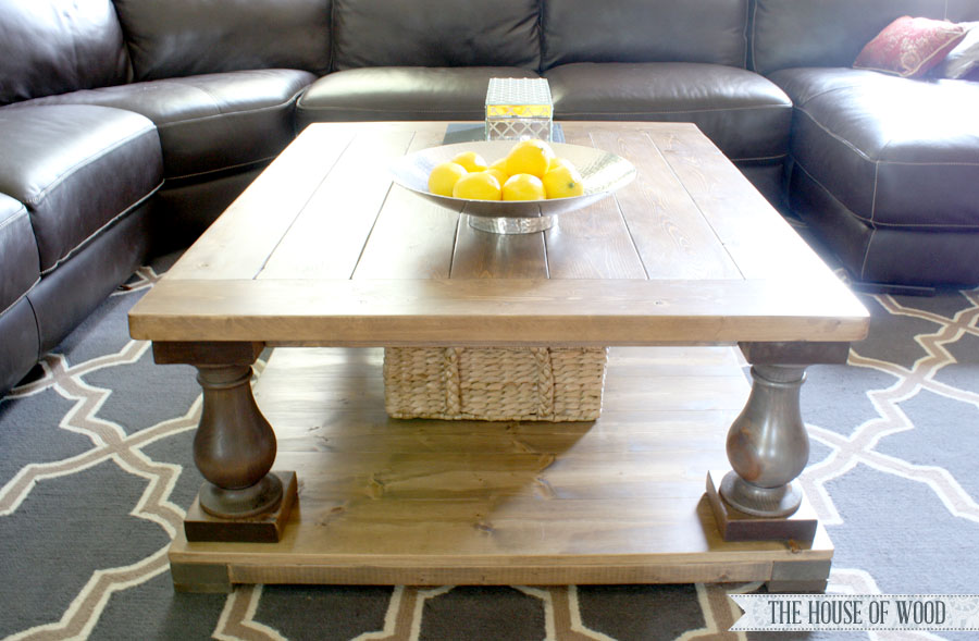 Image Result For Diy Wood Block Coffee Table