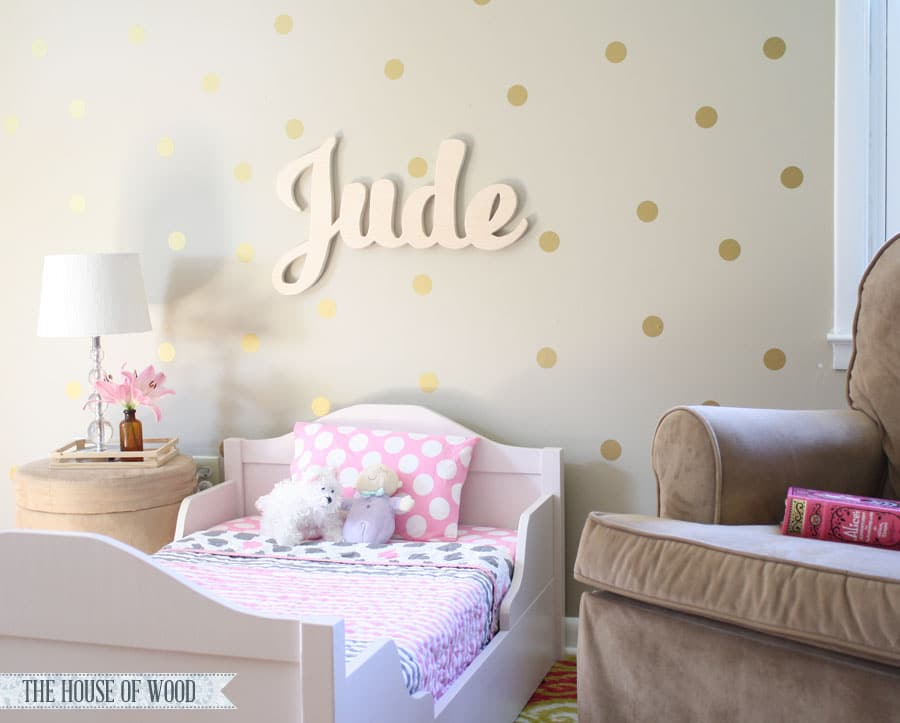 Diy Crafts For Baby Room: DIY Custom Wood Name Signs