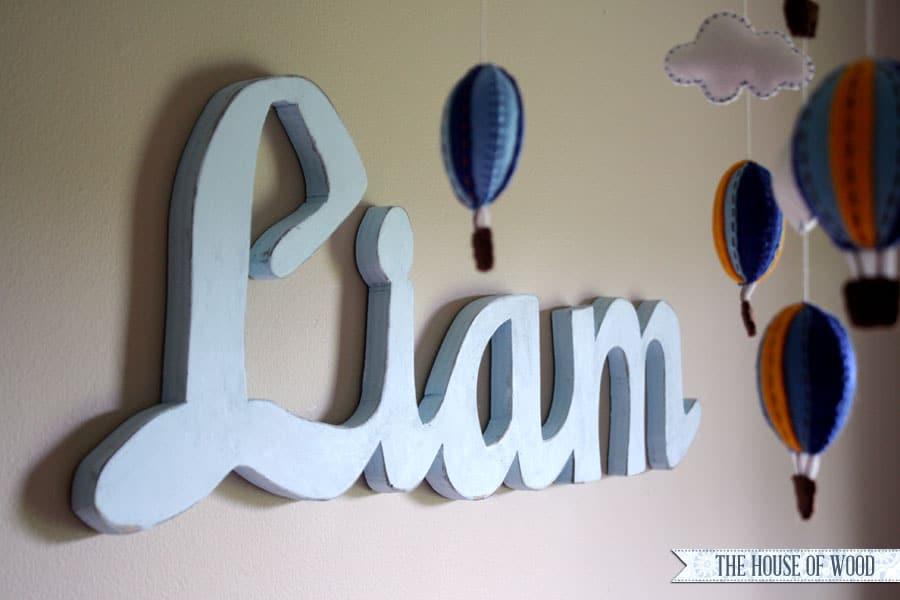Wood Liam Sign