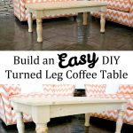 Easy Turned Leg Coffee Table