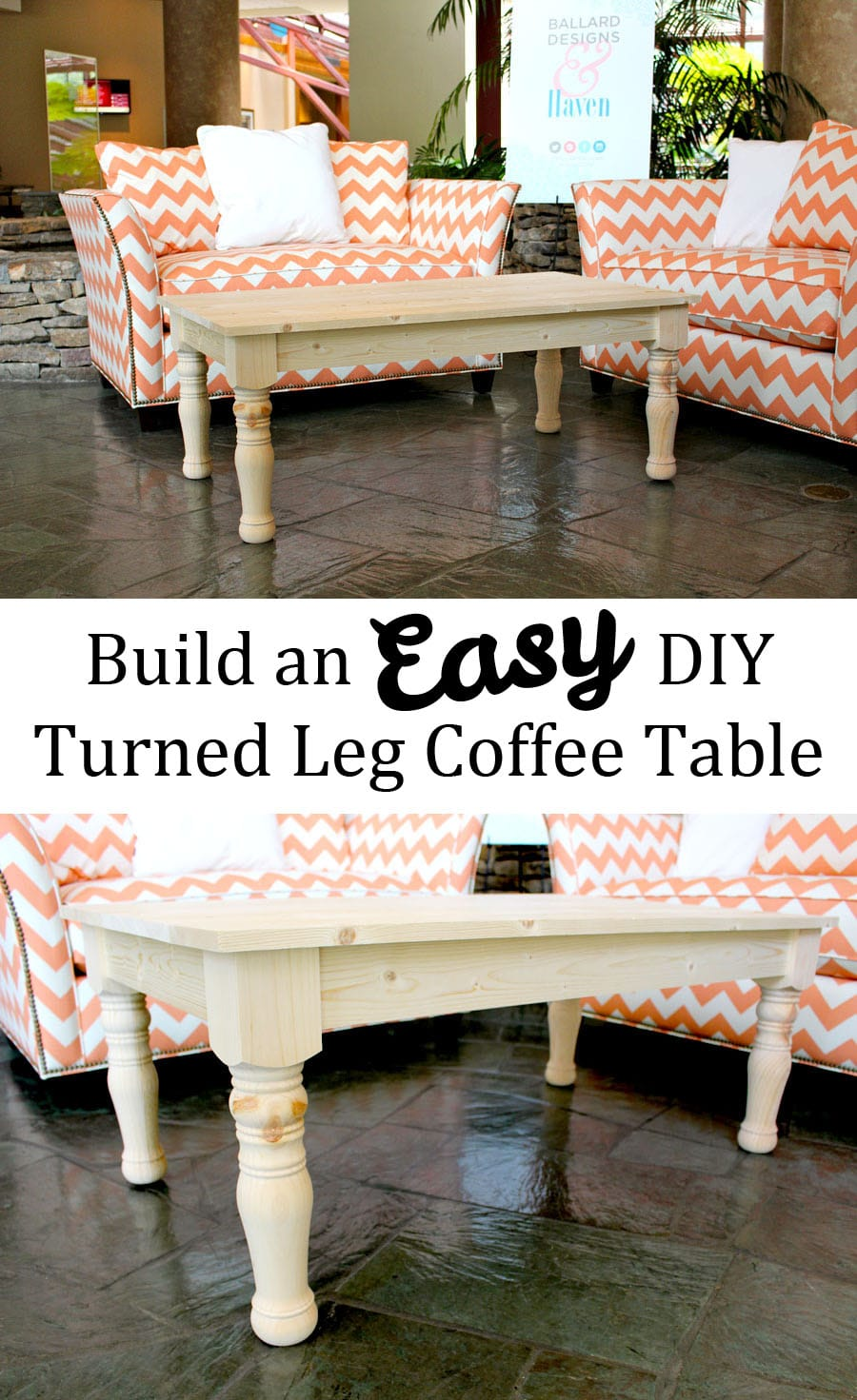 Diy Outdoor Coffee Table Plans