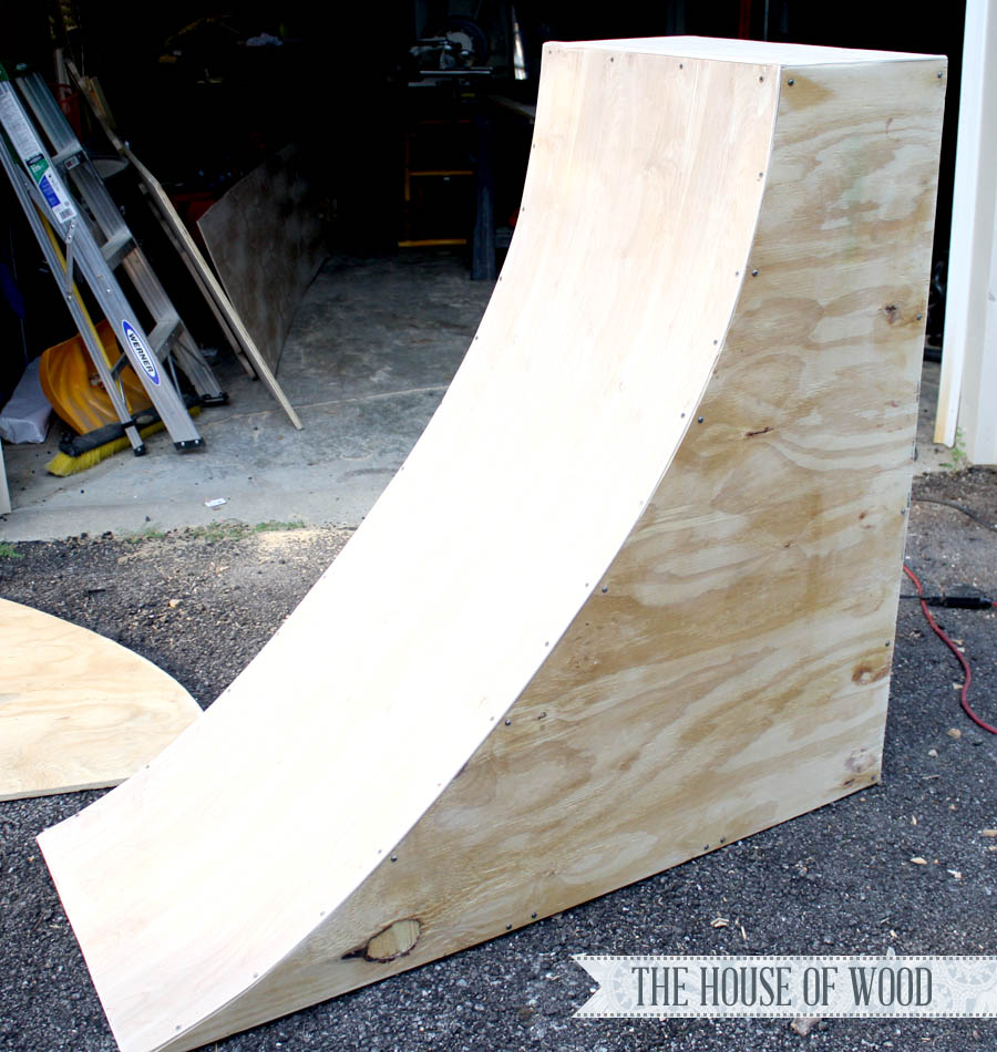 How To Build A Fake Quarter Pipe