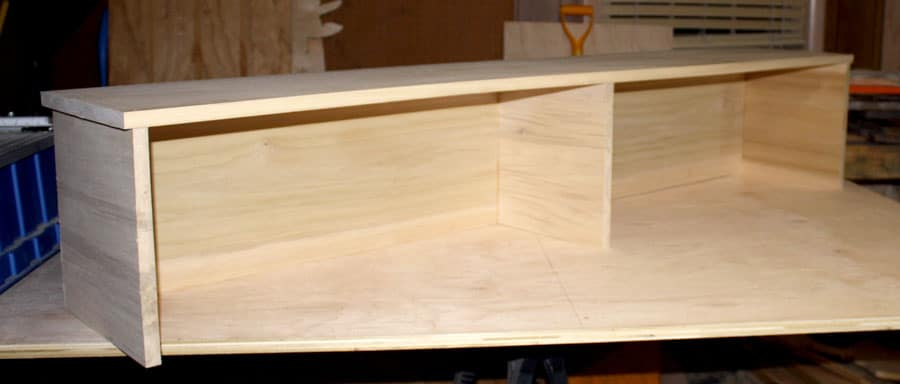 DIY Foyer Console Table