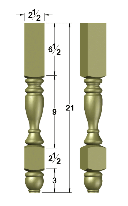 Foyer Console legs