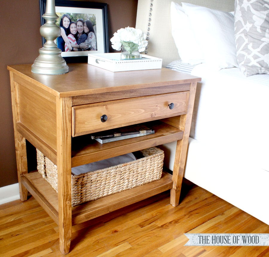 DIY nightstands bedside tables