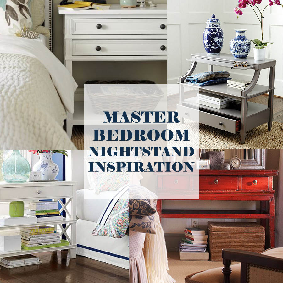 master bedroom nightstands bedside table Master Bedroom Nightstands