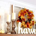 Mixed Metallic Fall Mantel