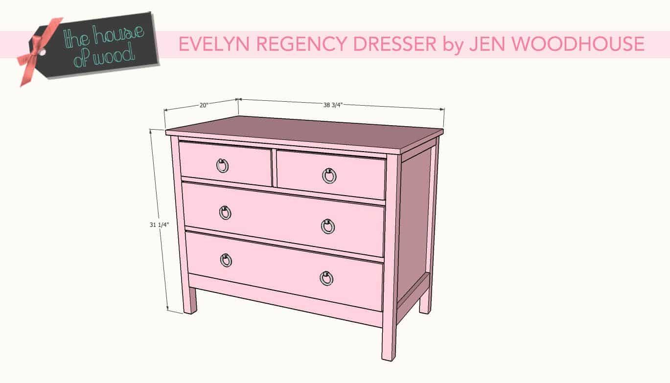 Diy Evelyn Regency Dresser