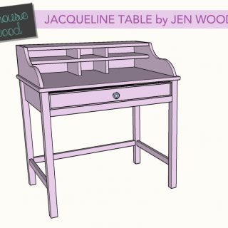 DIY pottery barn jacqueline table