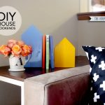 Scrap Wood House Bookends