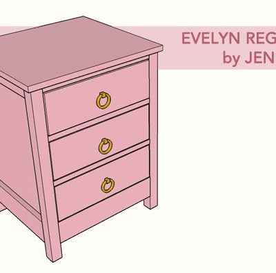 Evelyn Regency Nightstand