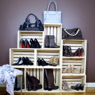 Easy Shoe Storage Display