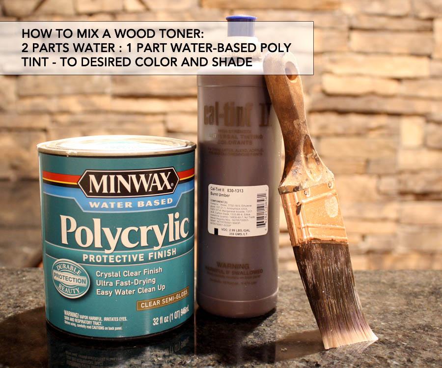 how to make wood toner