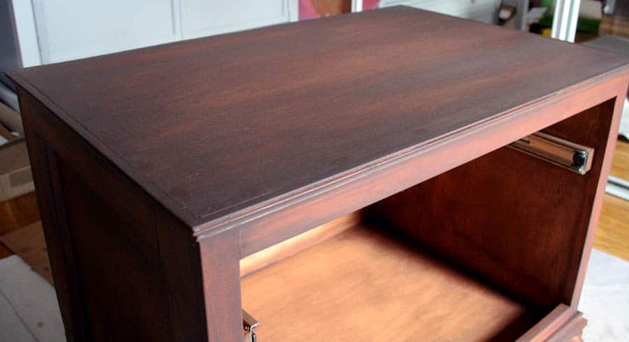 how to get a rich furniture finish with glaze