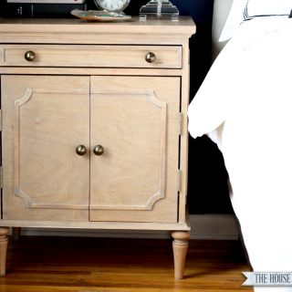 How to build a DIY Ballard Designs-inspired Nightstand