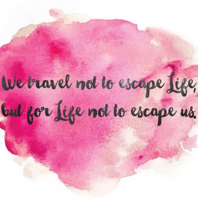 Travel and Life {Free Printable}