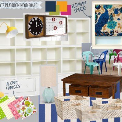 Emily's Gender-Neutral Playroom Mood Board