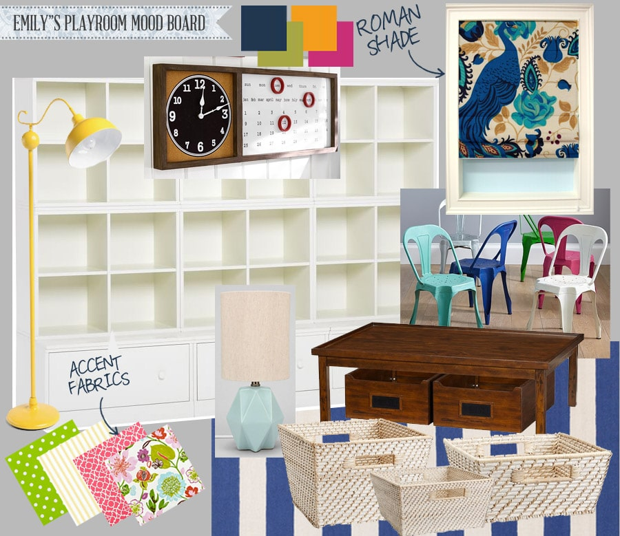 Playroom Mood Board Ideas