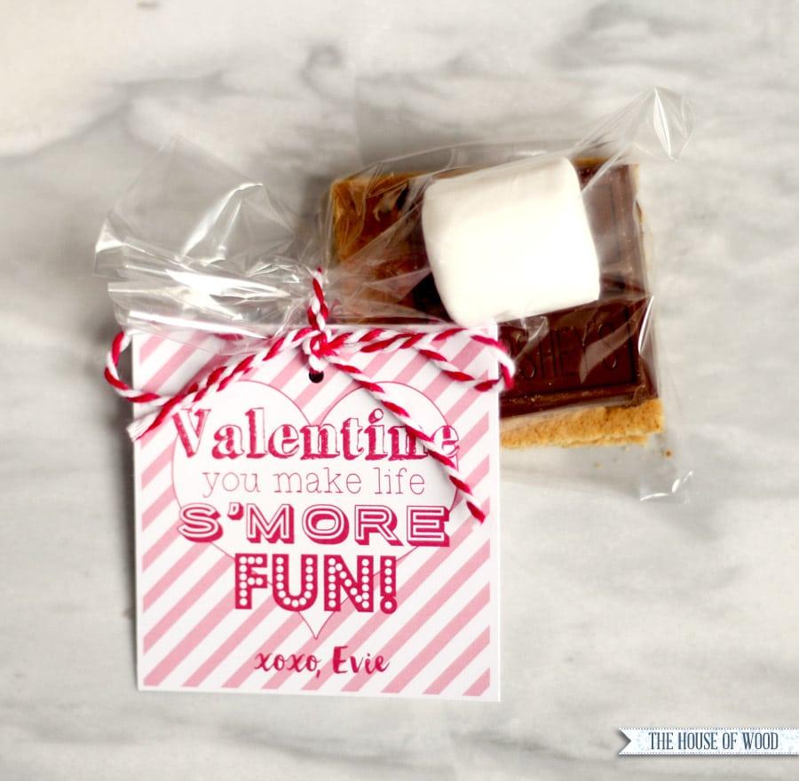 Valentine\'s Day S\'mores